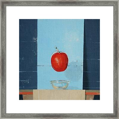 The Tomato Framed Print