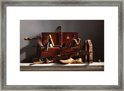 The Tool Box Framed Print