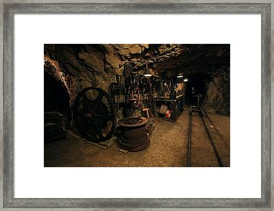 The Tool Room Framed Print by Mike Flynn