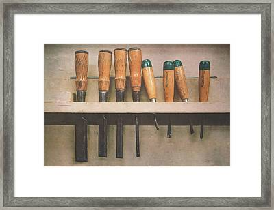 The Tools Of The Trade Framed Print by Scott Norris
