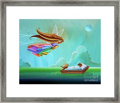 The Tooth Fairy Framed Print