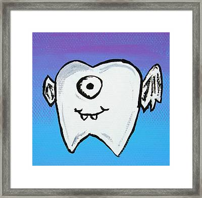 The Tooth Fairy Framed Print