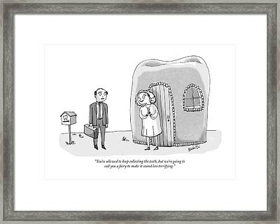 The Tooth Fairy Framed Print by Maddie Dai
