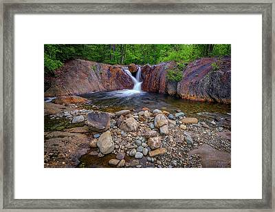 The Top Of Smalls Falls Framed Print