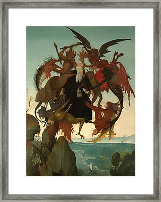 The Torment Of Saint Anthony Framed Print by Mountain Dreams