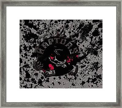 The Toronto Raptors 1b Framed Print