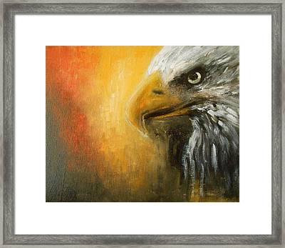 The Totem Framed Print by Jane See
