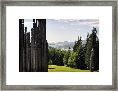 The Totems Watching Framed Print