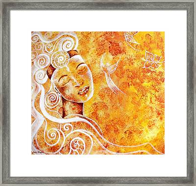 The Touch Of Grace Framed Print