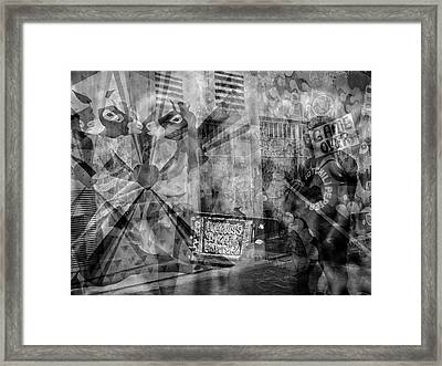 The Tourists - The Mission District Framed Print