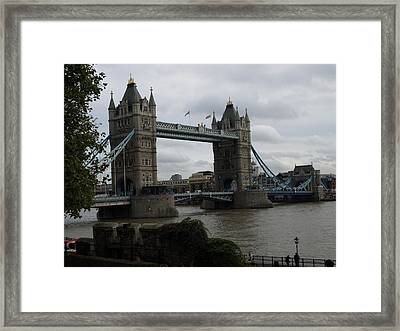 The Tower Bridge Framed Print