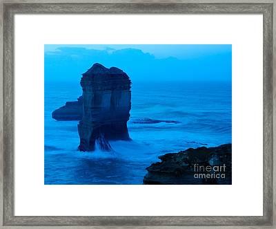 The Tower Framed Print by Hideaki Sakurai