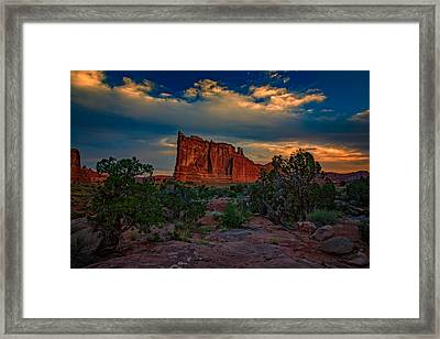 The Tower Of Babel From Park Avenue Framed Print by Rick Berk