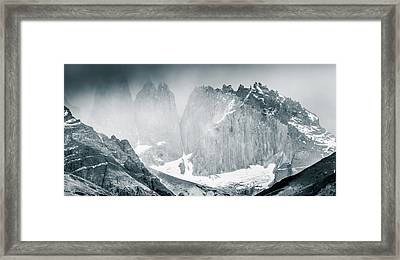 The Towers Framed Print by Andrew Matwijec