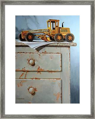 The Toy Grader Framed Print