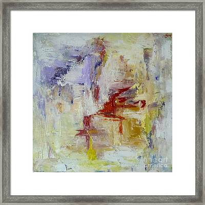 The Trace Framed Print