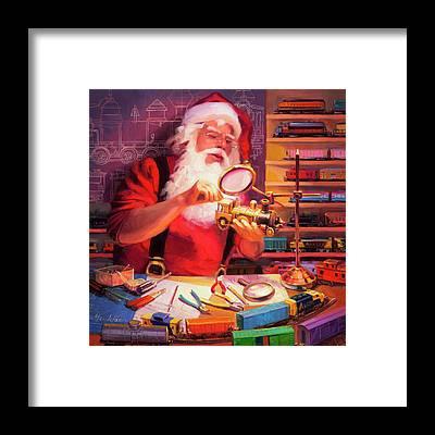 Claus Framed Prints