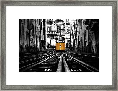 The Tram Framed Print
