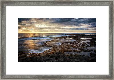 The Tranquil Seas Framed Print