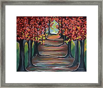 The Tranquility Of Nature Framed Print