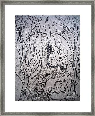 The Transformation Framed Print