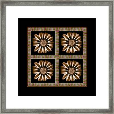 The Transformation Of Flower 1 - Stasis Framed Print by Jacqueline Migell