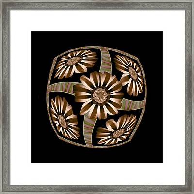 The Transformation Of Flower 4 - Growth Framed Print by Jacqueline Migell