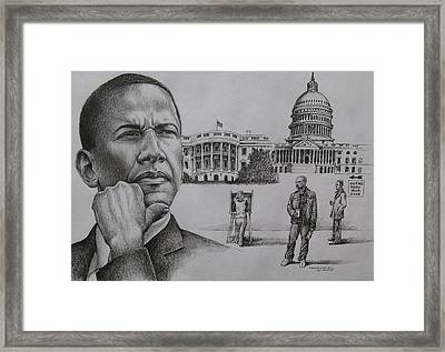 The Transition Framed Print