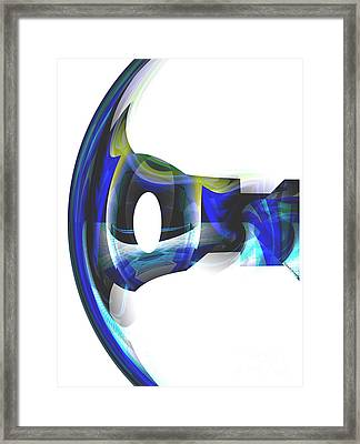 The Transparency Bow Framed Print by Thibault Toussaint