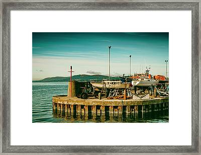 The Transport Framed Print