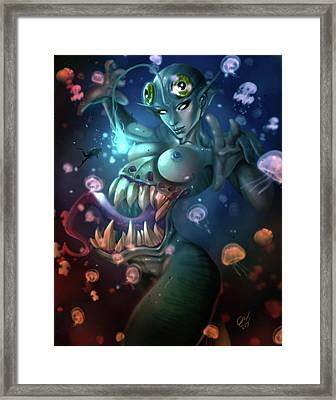 The Trap Framed Print by Pete Tapang