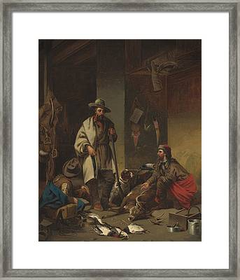 The Trappers Framed Print