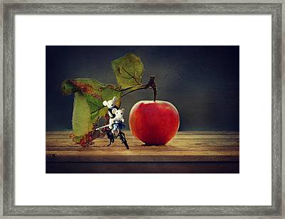 The Travel Framed Print by Heike Hultsch