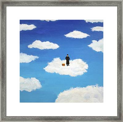 The Traveler Framed Print by Thomas Blood
