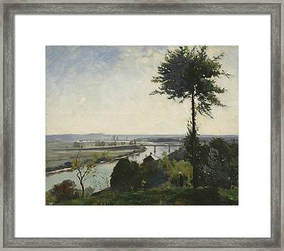 The Tree And The River IIi Framed Print