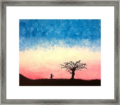 The Tree Framed Print by Jennifer Hernandez