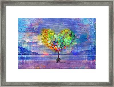 The Tree Of Hearts Framed Print by Tara Turner