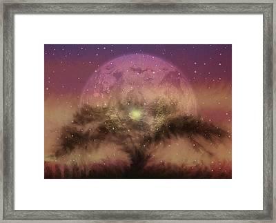 The Tree Of Illumination Framed Print