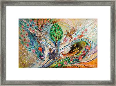 The Tree Of Life Keepers Framed Print