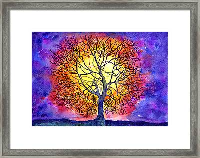 The Tree Of New Life Framed Print