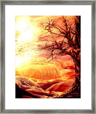 The Tree Framed Print by Tezz J