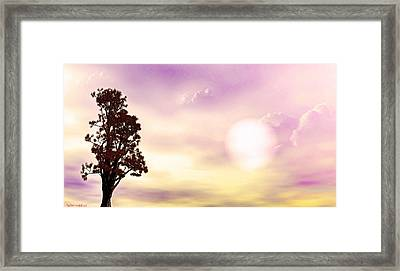 The Tree Framed Print by Tyler Robbins