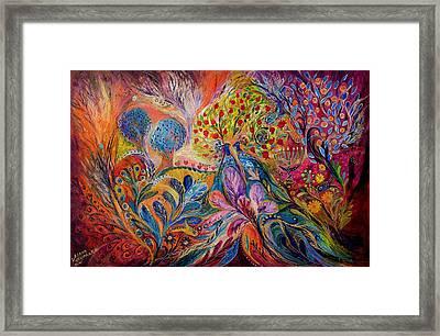 The Trees Of Eden Framed Print by Elena Kotliarker