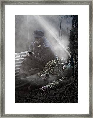 the Trench 3 Framed Print by Mark H Roberts