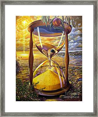 The Trial Of Time Framed Print by Alfred Dolezal