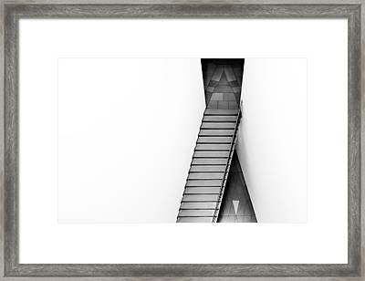The Triangular Tile Framed Print by Gerard Jonkman