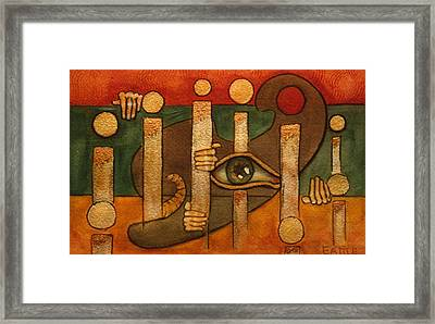 The Trickster Framed Print by Dan Earle