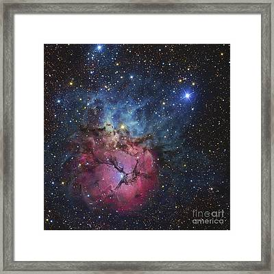 The Trifid Nebula Framed Print