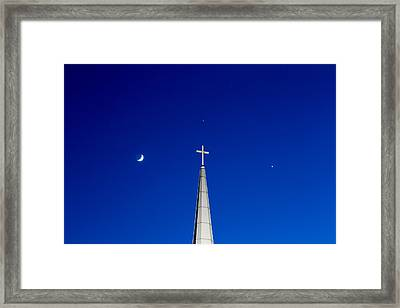 The Trinity Framed Print