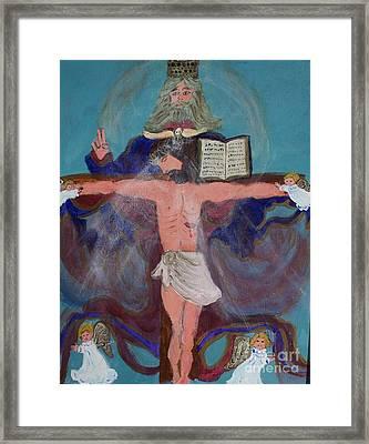 The Trinity Framed Print by Seaux-N-Seau Soileau